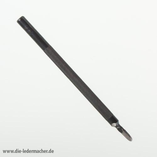 Schlageisen für Nahtlöcher - 1 Zahn - 2,5 mm
