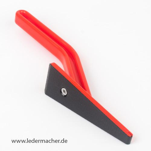 Handschleifer für Leder, Holz und Kunststoff - flach