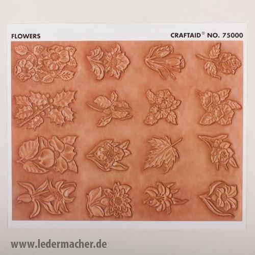 Craftaid Punzierschablone Flowers