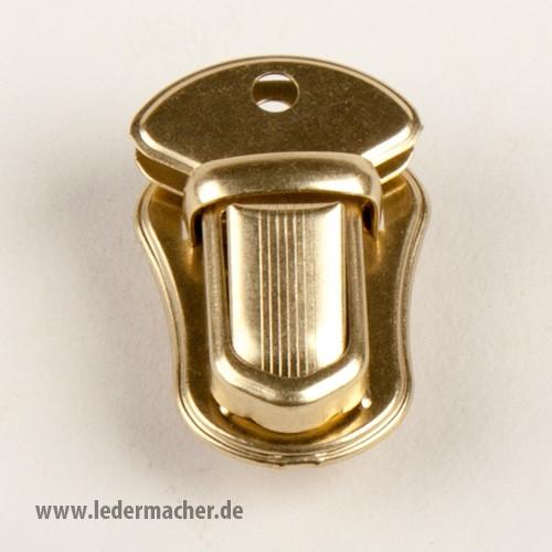 Steckschloss / Mappenschloss - antikmessing