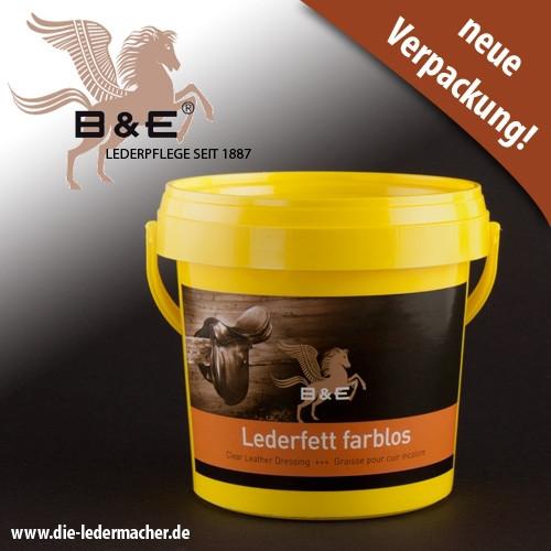 B&E Lederfett, farblos, 500 ml