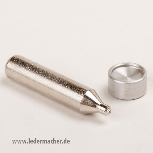Osborne Druckknopfsetzer Set - für 15 mm Druckknöpfe
