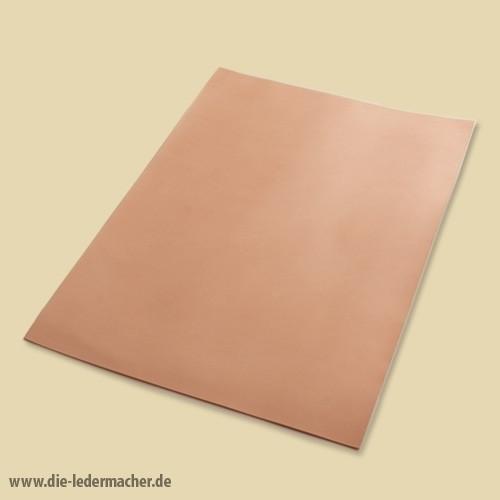 Premium Blankleder 2,0 - 2,5 mm - natur Zuschnitt: 21x30 cm