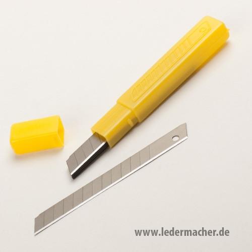 10 Wechselklingen für Cuttermesser 9 mm