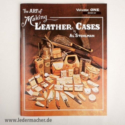 The Art of Making Leather Cases Teil 1 - Lederfachbuch